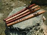מהמלין לשומרון, ג'ו בייזר חלילים ואמנות בעץ, שילה