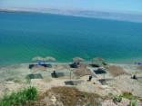 לפעמים נפרד חוף נווה מדבר מתחם החופים, ים המלח
