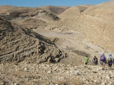 Поход по Иудейской пустыне 17 марта, вторник, כו' אדר