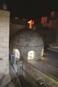 Его переулки Авраѓам авину (праотец Авраам), квартал и синагога, Хеврон