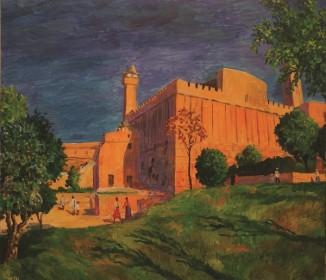 הצייר ממוסקבה, שמואל מושניק, צייר, בית הדסה, חברון